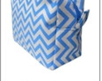 AQUA - Chevron Cosmetic Bag - FREE Monogram!!