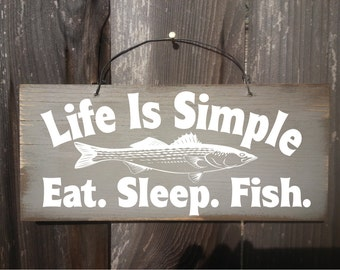 fishing sign, fishing decor, fishing gift, fighing decoration, fisherman, fishing, rustic fishing decor, cabin decor, 154