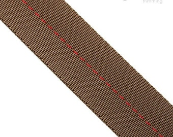 32mm Stitched Polyester Webbing :360092WB