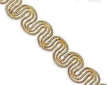 """3/8"""" Gold Scroll Trim :350026CO"""
