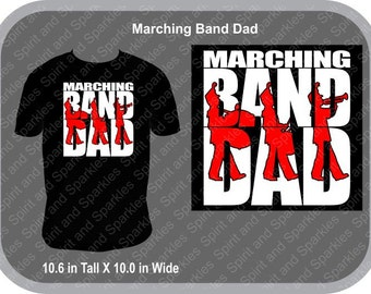 Marching Band Dad T-Shirt, Tank or Hoodie
