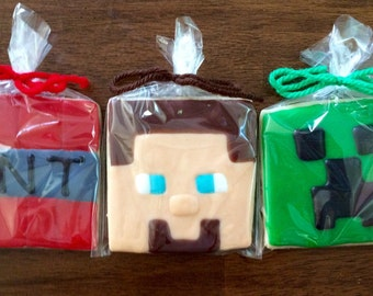 Minecraft Cookies - perfect party cookies!