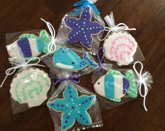 Under the Sea Cookies - perfect party cookies!
