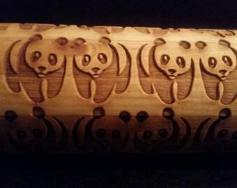 Panda twin Rolling Pin