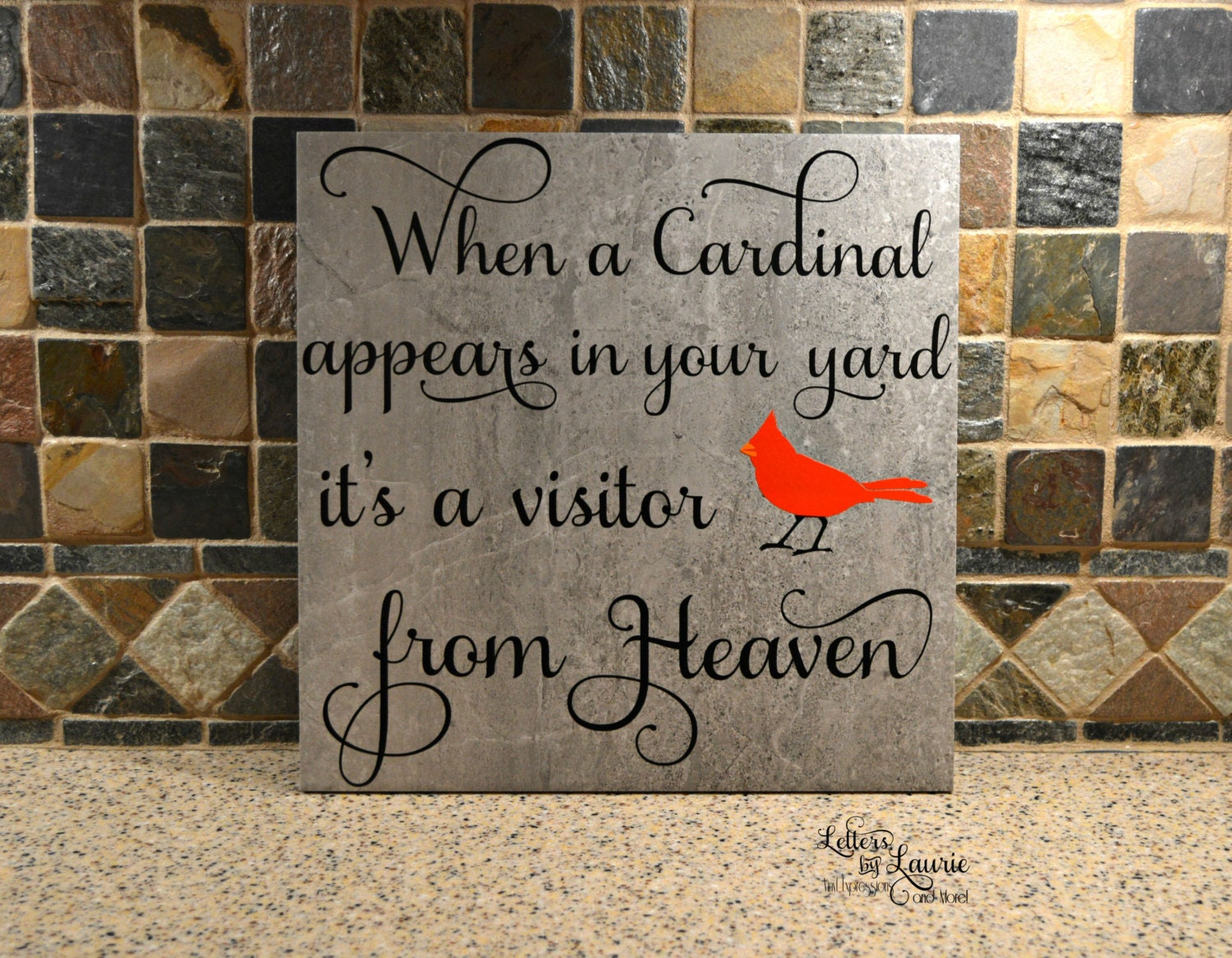 In Loving Memory Gift When A Cardinal Appears In Loving