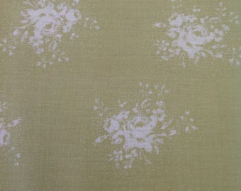 SALE Durham Quilt Collection by Lecien Fabrics,  Green Color Way, Fabric by the Yard