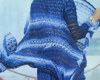 Handmade crochet coat,long cardigan, tunic, jumper women crochet clothes MADE TO ORDER