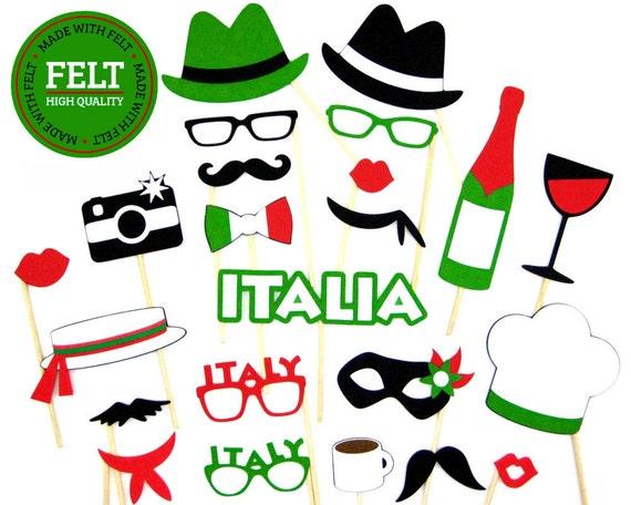 Me Sentais Italienne Photo Booth Les Accessoires Les