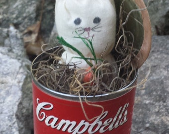 Vintage Campbell Soup Collectible - Rabbit Stew