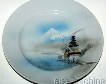 "Antique Oriental 6 1/8"" Vintage Plate Handpainted"