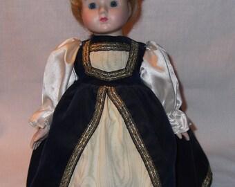 Vinatage Porcelain Doll