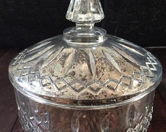 Beautiful mercury glass centerpiece box