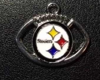 Pittsburgh Steeler Football Charm