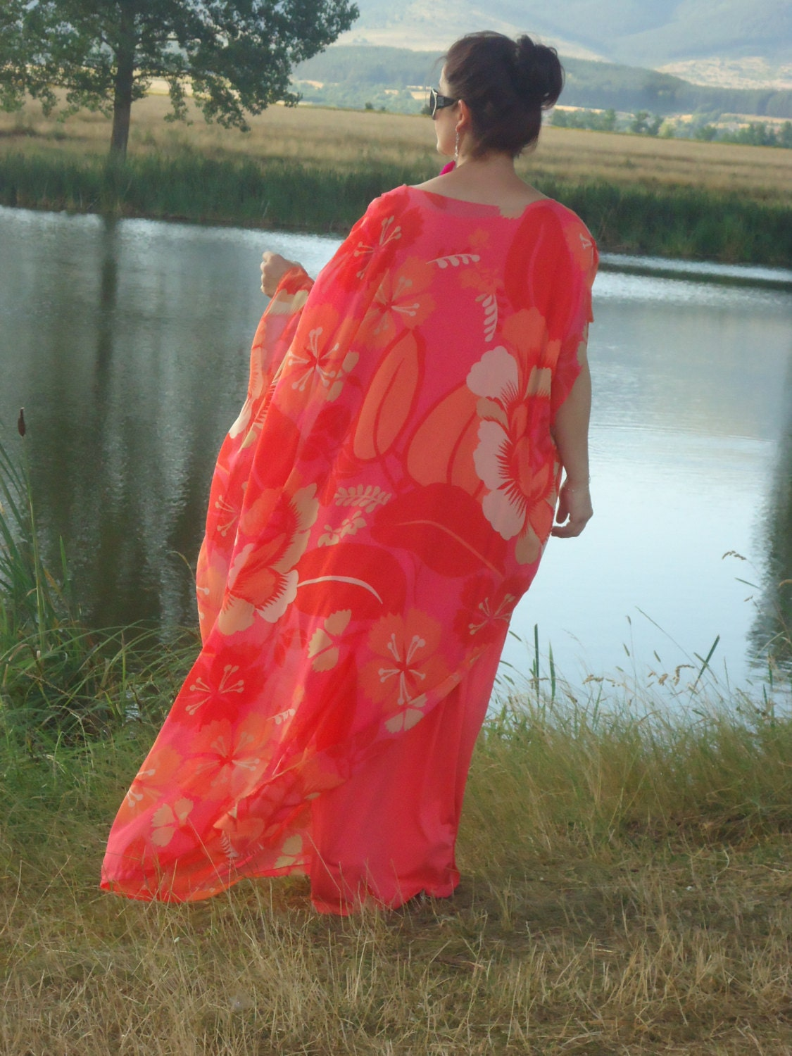Long kaftan dresses uk