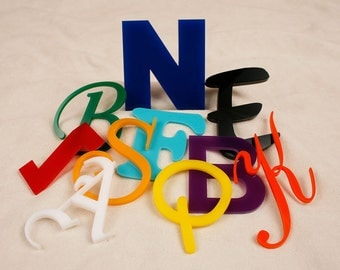 Custom Opaque Color Acrylic Letters