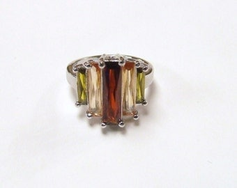 Vtg Sterling silver ring size 7 free shipping