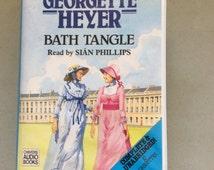 Bath Tangle, Books On Tape,Georgette Heyer,Regency Romance Novel,Marquis,Inheritance Suspense,  RomanticSuspense, Historical Fiction, Jilted