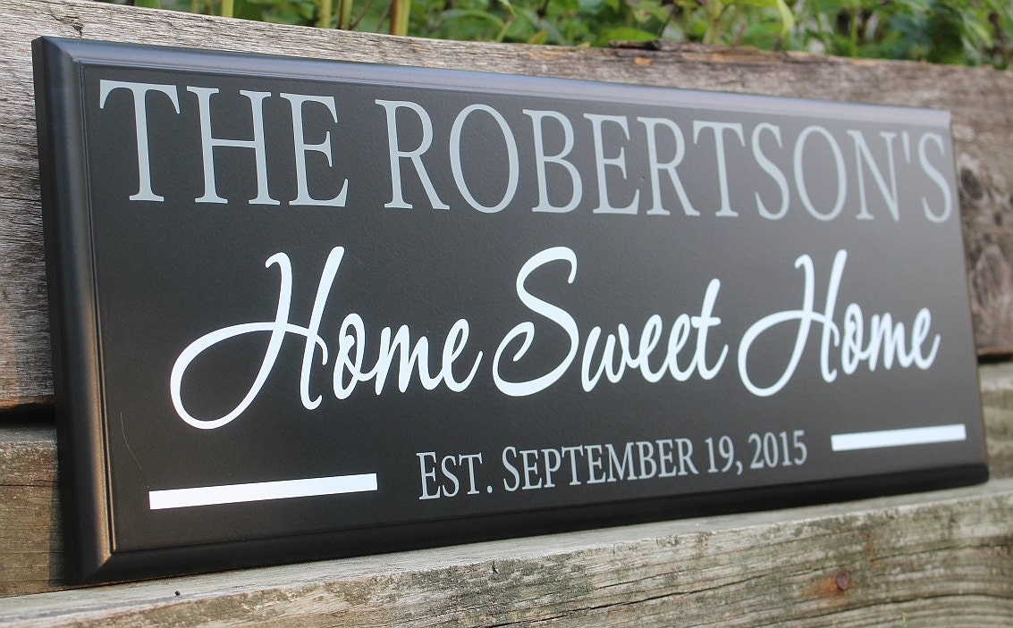 Home sweet home sign-home sign-housewarming gift-home ...