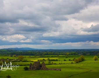 Irish Landscape - near rock of Cashel