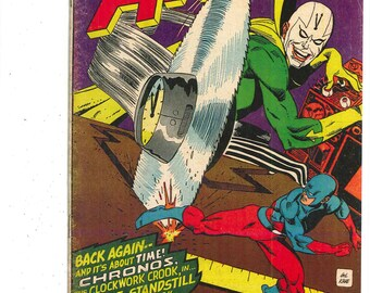 The Atom #28 Comic Book.