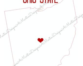 Ohio State Wall Art