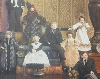 Downton Abbey doll pattern