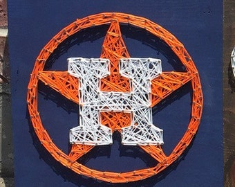 MADE TO ORDER - Houston Astros String Art