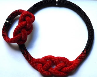 Necklace Plait Knot happiness