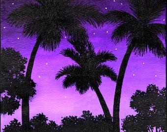 Purple Sky 082215