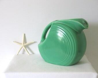 Homer Laughlin - Fiesta - FiestaWare - Original Green - Light Green - Disk Water Pitcher - Unused