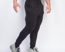 Blacked Out Men's Jogger Pants
