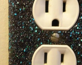 Glitter Outlet Plug Faceplate