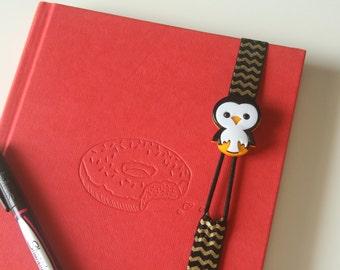 Kids Bookmark - Penguin Bookmark - Kids Stocking Stuffer - Unique Bookmark - Planner Bookmark - Penguin Gift - Fun Bookmark