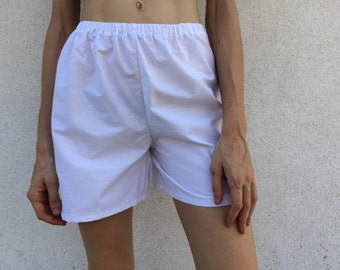 Cotton Short with Elastic Waist