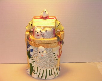Adorable Noah's Ark Cookie Jar