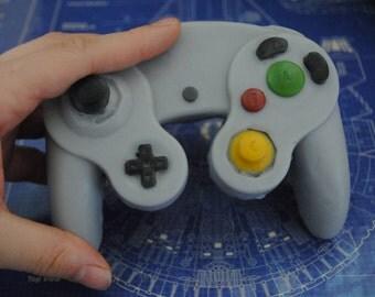 3D Gamecube controller parody controller handmade Parody Soap – Novelty, gift, birthday present, retro gamer, geek, nerd, playstation