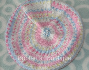 Baby Beret, size 0-6 months Made To Order