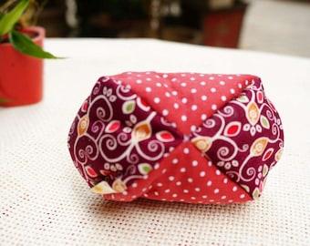 Handmade Original Design Card Pack Coin Purse Sundries Bag Pure Cotton Red Dot