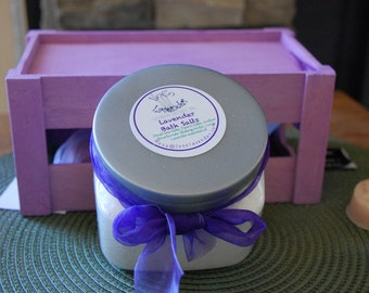 Lavender Bath Salts (16 oz)