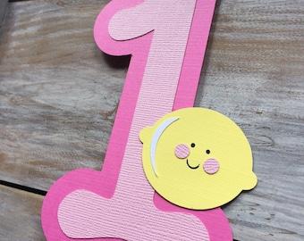 Lemonade Cake Topper | Lemonade Birthday | Lemonade Stand Birthday | Lemonade Banner | Lemonade Sign | Pink Lemonade Birthday | Lemons