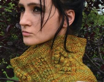 Woodland Goddess Cowl - KNITTING PATTERN