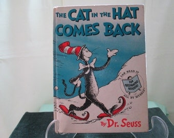 Cat in the Hat Comes Back  Dr Seuss  First Printing 1958