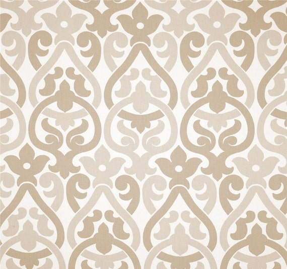 Fabric Shower curtain Alex Ecru White 72 x 84 108 54 x 78 stall shower ...