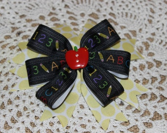 First Day of School Boutique Bow