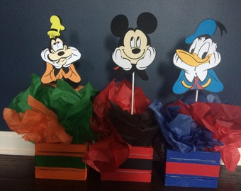Mickey Mouse Clubhouse Character Die Cuts, Mickey Mouse Clubhouse Characters, Mickey Mouse Clubhouse Centerpieces