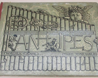 Pan-Pipes - 2nd ed. Walter Crane Illustrations / Arts & Crafts Movement