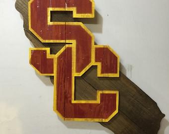 USC Trojans California Sign