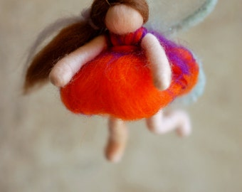 Butterfly fairy tale, wool, Waldorf inspired