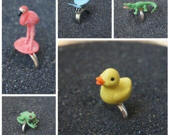 Happy animals rings