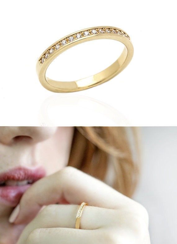 Spectacular Solid Gold Wedding Ring